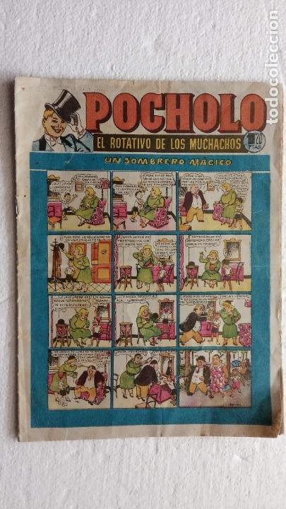 POCHOLO ORIGINAL Nº 10 HISPANO AMERICANA, MUY BUEN ESTADO (Tebeos y Comics - Tebeos Otras Editoriales Clásicas)