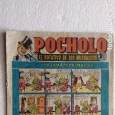 Tebeos: POCHOLO ORIGINAL Nº 10 HISPANO AMERICANA, MUY BUEN ESTADO. Lote 240013340