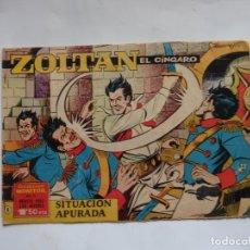 Tebeos: ZOLTAN EL CINGARO Nº 6 ORIGINAL. Lote 240575700