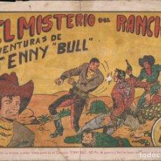 Tebeos: TENNY BULL Nº 1: EL MISTERIO DEL RANCHO. EDICIONES REALCE. Lote 240668735