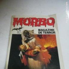 Tebeos: TEBEO. MORBO. Nº 5. MAGAZINE DE TERROR. EDITORIAL BRUGUERA. Lote 240968630