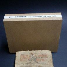 Tebeos: EN PATUFET, DEL Nª 1 AL 52, DEL PRIMER AÑO DE 1904.. Lote 241467070