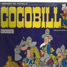 Tebeos: HEROES DE PAPEL 3: COCOBILL, COCOHUG, 1973, BURU LAN. Lote 242982660