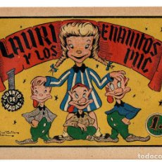Tebeos: CUENTO DE HADAS Nº 4 LAURI Y LOS ENANITOS PUC (FABREGAT 1948). Lote 243345170