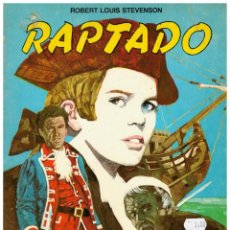 Tebeos: RAPTADO. -ROBERT LOUIS STEVENSON- EDITORIAL SIGMAR 1985.. Lote 243818400