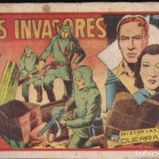 Tebeos: HISTORIAS DE GUERRA: LOS INVASORES. FAVENCIA. Lote 243849895