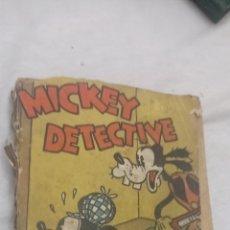 Tebeos: MICKEY EL DETECTIVE 1934 WALT DISNEY . COMPLETO. ED. MOLINO. Lote 243898600