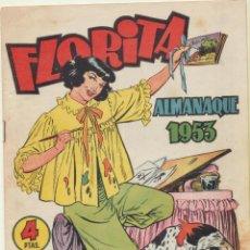 Tebeos: FLORITA. ALMANAQUE 1953. CLIPER. Lote 244002880