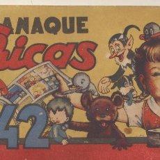 Tebeos: MIS CHICAS. ALMANAQUE 1942. C. GIL. (100 PÁGINAS). Lote 244002885