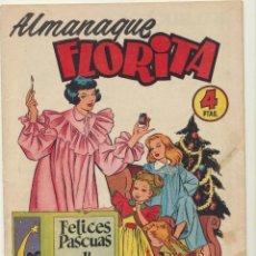 Tebeos: FLORITA. ALMANAQUE 1955. CLIPER. Lote 244002900