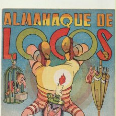 Tebeos: ALMANAQUE DE LOCOS 1951. VALENCIANA. Lote 244002915