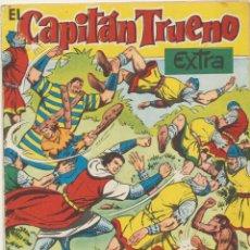 Tebeos: EL CAPITÁN TRUENO EXTRA. NÚMERO DE VACACIONES (1960) LOS GUERREROS DE WATSYRA. BRUGUERA. Lote 244002945