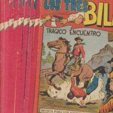 Tebeos: LOS TRES BILL. MAGA 1958. LOTE DE 27 EJEMPLARES ENTRE EL Nº 2 Y 36. LA MAYORÍA SIN ABRIR. Lote 244002965