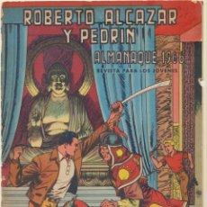 Tebeos: ROBERTO ALCÁZAR. ALMANAQUE 1966. VALENCIANA. Lote 244002985