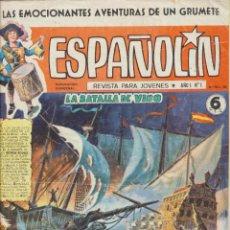 Tebeos: ESPAÑOLÍN Nº 1. V. RAMOS 1968. Lote 244003025