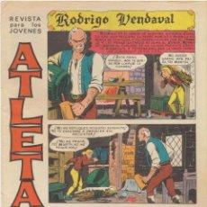 Tebeos: ATLETAS Nº 1. RODRIGO VENDAVAL. MAGA. Lote 244003040