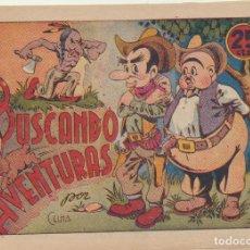 Tebeos: BUSCANDO AVENTURAS. I.G.A. HISPANO AMERICANA 1942. Lote 244003075