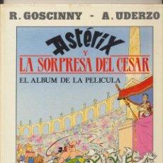 Tebeos: ASTERIX Y LA SORPRESA DE CÉSAR. EL ÁLBUM DE LA PELÍCULA. JUNIOR 1986. TAPAS DURAS. Lote 244003085
