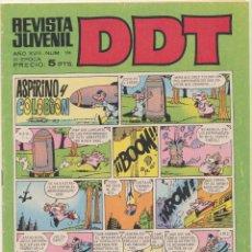 Tebeos: DDT Nº 124. BRUGUERA. Lote 244003150