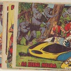 Tebeos: RED DIXON 3ª MARCO 1957. COLECCIÓN COMPLETA 22 EJEMPLARES. Lote 244003155