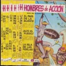Tebeos: HOMBRES DE ACCIÓN. TORAY 1958. COLECCIÓN COMPLETA 16 EJEMPLARES. Lote 244003195