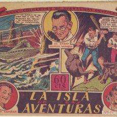 Tebeos: LOS NAVARROS Nº 1 . LA ISLA DE LA AVENTURA. G.C.A.G. MARCO 1940. Lote 244003300