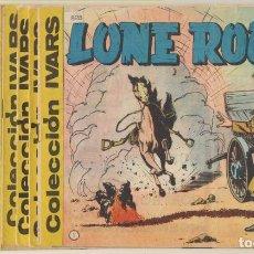 Tebeos: LONE ROCK. IVARS 1965. LOTE DE 19 EJEMPLARES ENTRE EL 1 Y 25. COLECCIÓN A FALTA-. Lote 244003315