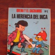 Tebeos: ALBUM QUENA Y EL SACRAMUS Nº 1 - LA HERENCIA DEL INCA - GOS - DUPUIS. REVISTA SPIROU ARDILLA. Lote 244721960