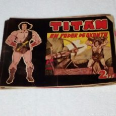 Tebeos: TITAN TEBEO LOTE DE TRES UNIDADES ORIGINALES. AÑOS 60. Lote 244778885