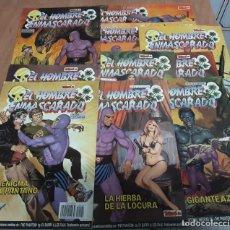 Tebeos: LOTE 10 COMICS EL HOMBRE ENMASCARADO TEBEOS S.A EDICION HISTORICA AÑOS 80. Lote 245096265