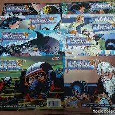 Tebeos: LOTE 10 COMICS FLASH GORDON TEBEOS S.A EDICION HISTORICA AÑOS 80. Lote 245101705