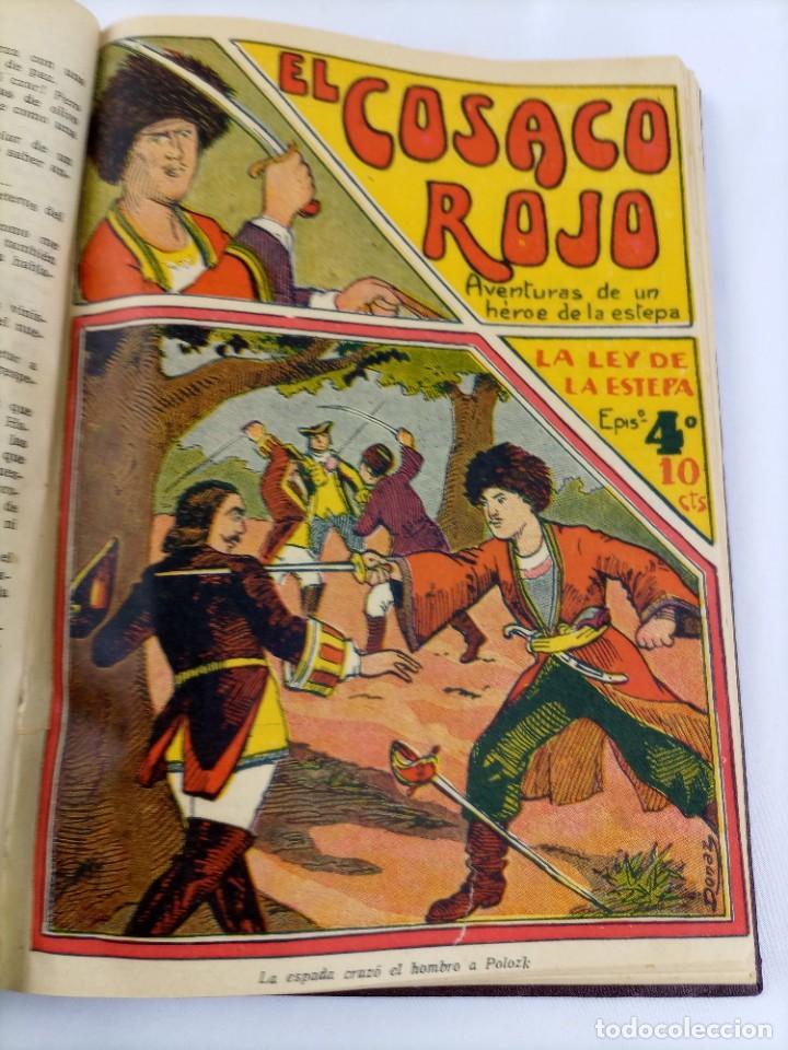 EL COSACO ROJO - AVENTURAS HEROE ESTEPA - ILUSTRA DONAZ - 24 NÚMEROS - COMPLETA - GATO NEGRO (Tebeos y Comics - Tebeos Clásicos (Hasta 1.939))