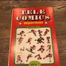 Tebeos: TELE COMICS DEPORTIVOS - JAN (SUPER LOPEZ) - COMPLETO. Lote 245721345