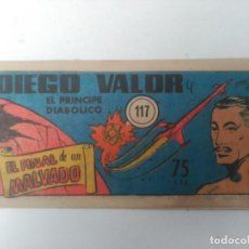 Tebeos: DIEGO VALOR Nº117. Lote 246149380