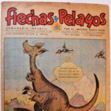 Giornalini: FLECHAS Y PELAYOS, EDITA FE Y DE LAS JONS, 1938, NÚMEROS 411-412 ORIGINAL 8 DE DICIEMBRE DE 1946. Lote 247043390