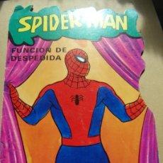 Tebeos: TROQUELADO SPIDER-MAN FUNCIÓN DE DESPEDIDA NÚM. 3 AÑO 1981 EDITORIA FHER. Lote 248831200