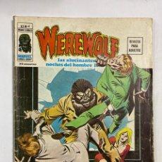 Livros de Banda Desenhada: WEREWOLF. Nº 4 - EL ASESINO ES UN MANIATICO. MUNDI-COMICS. MARVEL COMICS GROUP.. Lote 250140390