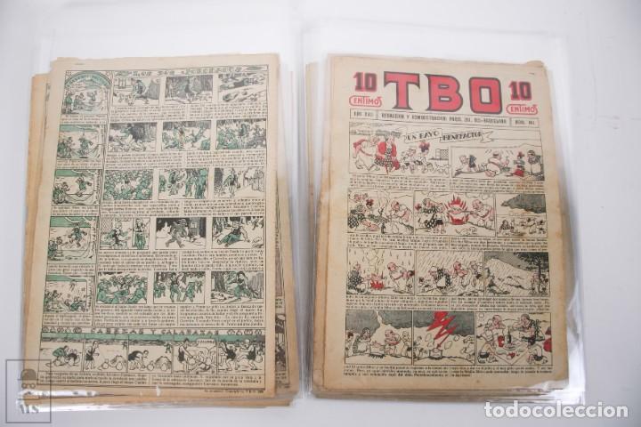 Tebeos: Conjunto de 126 TBO Primera Época - Entre los numeros 775 al 1089 - 10, 15 y 30 céntimos - - Foto 6 - 250140595