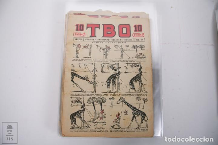 Tebeos: Conjunto de 126 TBO Primera Época - Entre los numeros 775 al 1089 - 10, 15 y 30 céntimos - - Foto 10 - 250140595
