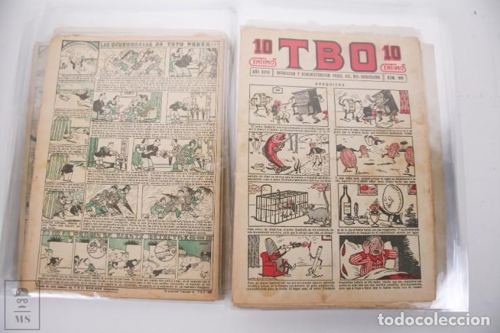 Tebeos: Conjunto de 126 TBO Primera Época - Entre los numeros 775 al 1089 - 10, 15 y 30 céntimos - - Foto 22 - 250140595
