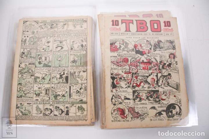 Tebeos: Conjunto de 126 TBO Primera Época - Entre los numeros 775 al 1089 - 10, 15 y 30 céntimos - - Foto 23 - 250140595