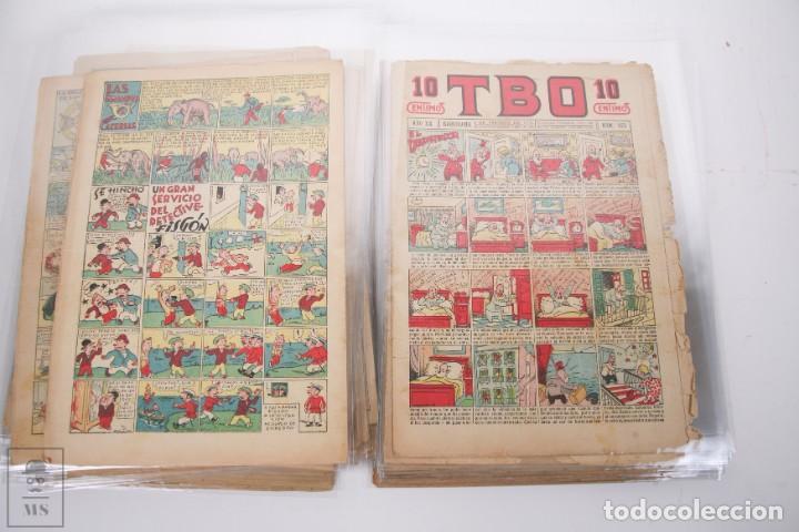 Tebeos: Conjunto de 126 TBO Primera Época - Entre los numeros 775 al 1089 - 10, 15 y 30 céntimos - - Foto 33 - 250140595
