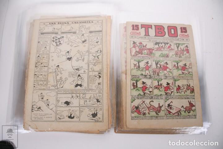 Tebeos: Conjunto de 126 TBO Primera Época - Entre los numeros 775 al 1089 - 10, 15 y 30 céntimos - - Foto 38 - 250140595