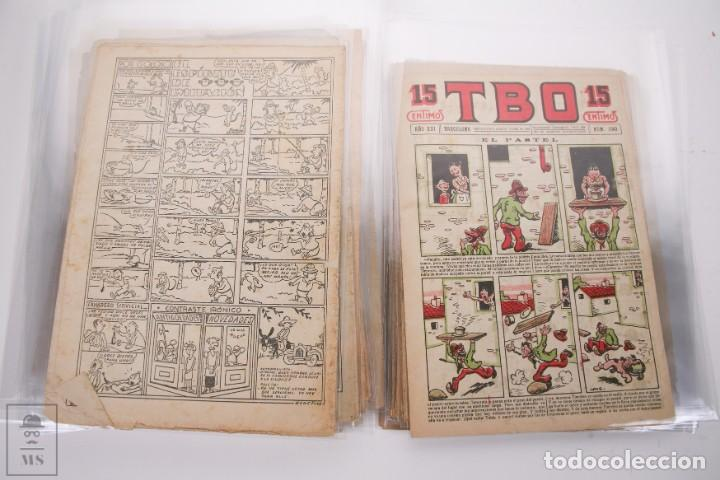 Tebeos: Conjunto de 126 TBO Primera Época - Entre los numeros 775 al 1089 - 10, 15 y 30 céntimos - - Foto 39 - 250140595