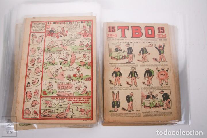 Tebeos: Conjunto de 126 TBO Primera Época - Entre los numeros 775 al 1089 - 10, 15 y 30 céntimos - - Foto 43 - 250140595