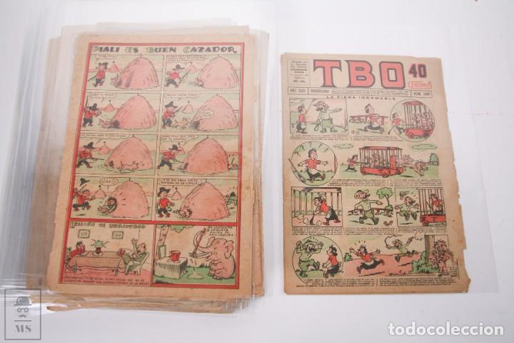 Tebeos: Conjunto de 126 TBO Primera Época - Entre los numeros 775 al 1089 - 10, 15 y 30 céntimos - - Foto 47 - 250140595
