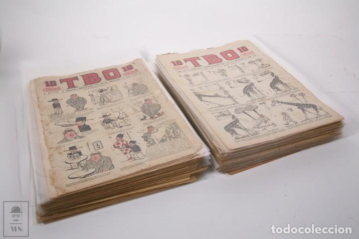CONJUNTO DE 126 TBO PRIMERA ÉPOCA - ENTRE LOS NUMEROS 775 AL 1089 - 10, 15 Y 30 CÉNTIMOS - (Tebeos y Comics - Tebeos Clásicos (Hasta 1.939))