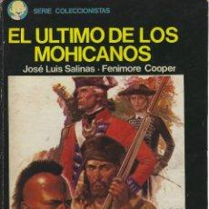 Tebeos: JOSE LUIS SALINAS. EL ULTIMO DE LOS MOHICANOS. EDICIONES RECORD. TAPA DURA. Lote 250147330