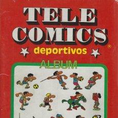 Tebeos: TELE COMICS DEPORTIVOS CON ILUSTRACIONES DE JAN AUTOR DE SUPER LOPEZ. COMPLETO Y MUY BUEN ESTADO. Lote 250150785