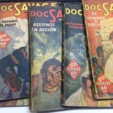 Tebeos: DOC SAVAGE DEL 1 AL 5 AÑO 1936. Lote 251810480